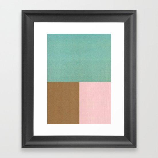 Seaside Sorbet Framed Art Print