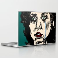 constellations Laptop & iPad Skins featuring Constellations by Natalie Easton