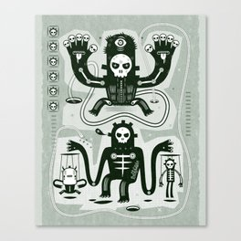 Chamanistik Canvas Print