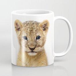 Baby Lion, Baby Animals Art Print By Synplus Coffee Mug
