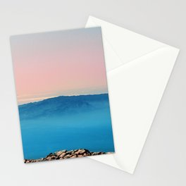 La Gomera, El Hierro from the top of Teide Stationery Cards