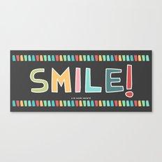 SMILE MUGS Canvas Print