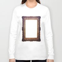 frame Long Sleeve T-shirts featuring Frame by GetNaked