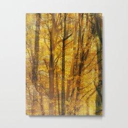 Woodland Chaos Metal Print