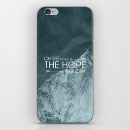 Hope of Glory - Colossians 1:27 iPhone Skin