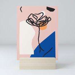 Matisse Face Art Print - Henri Matisse Portrait, Line Drawing - Face - Matisse style art Scandi Insp Mini Art Print