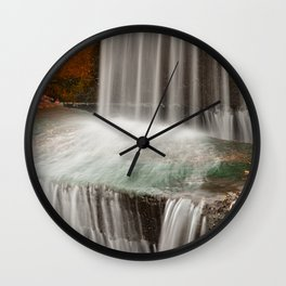 Urbex Falls Wall Clock
