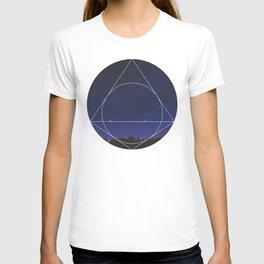 Magical Universe - Geometric Photographic T-shirt