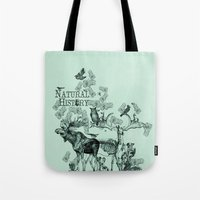 history Tote Bags featuring Natural History by Jonathan P