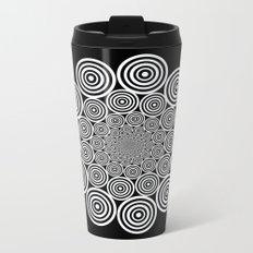 Mandala 4 Metal Travel Mug