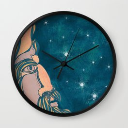 Mr. Man in the Moon Wall Clock
