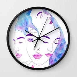 Girl, Square It Wall Clock