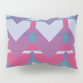Cool Waves #society6 #violet #pattern Pillow Sham