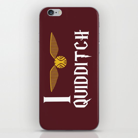 I love Quidditch iPhone & iPod Skin