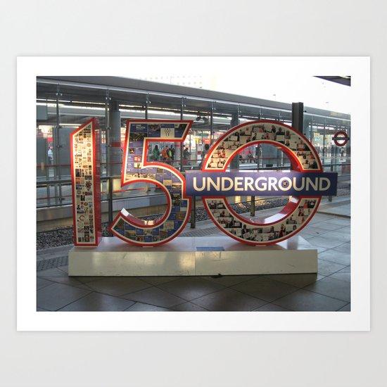 Underground II Art Print