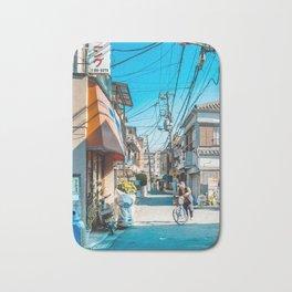 Anime Tokyo Streets Bath Mat