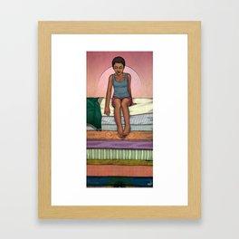 & The Pea Framed Art Print