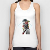pain Tank Tops featuring Pain by Cristina Guerrero