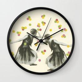 Dance : Gemini Wall Clock