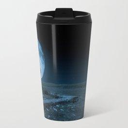 Celtic Cross and Moon Travel Mug
