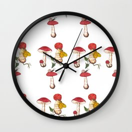 Mushie Love Wall Clock