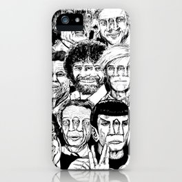 Dead Celebrities iPhone Case