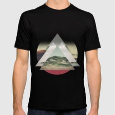 Perceptions landscapes Mens Fitted Tee Black MEDIUM