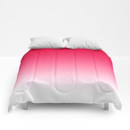 Red Light Ombre Comforters