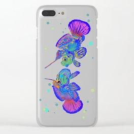 Dragonette - Synchiropus Splendidus Magica couple Clear iPhone Case