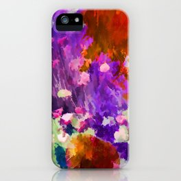 Explosion of Color iPhone Case