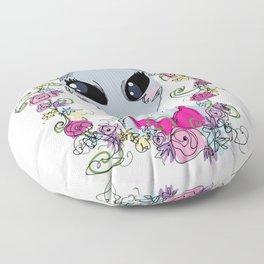 Grey Gal Floor Pillow