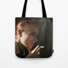 Smokin' Bowie Tote Bag