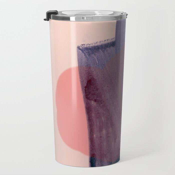 brush strokes 1 Travel Mug