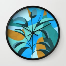 Coherence #art print# illustration Wall Clock