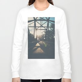 crossing the Mississippi ... Long Sleeve T-shirt