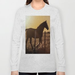 Wyoming Clydesdale Long Sleeve T-shirt