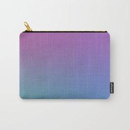 SUPERSTITION FUTURE - Minimal Plain Soft Mood Color Blend Prints Carry-All Pouch