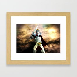 Soldier Of The God Framed Art Print