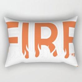 Detroit Fire Mutual Aid Rectangular Pillow