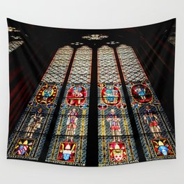 Cathedral Window Wall Tapestry