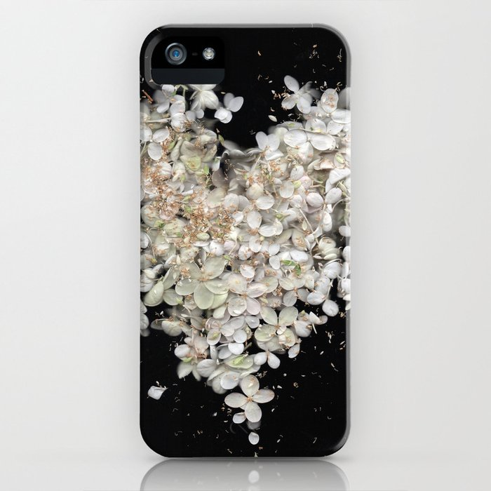 Heart Blossoms iPhone Case