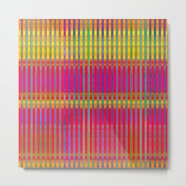 Popsicle Stripes Metal Print