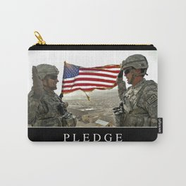 Pledge: Inspirational Quote and Motivational Poster Carry-All Pouch