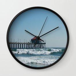 Huntington Beach Life Wall Clock