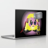 kirby Laptop & iPad Skins featuring Kirby Odinson by sarahbevan11