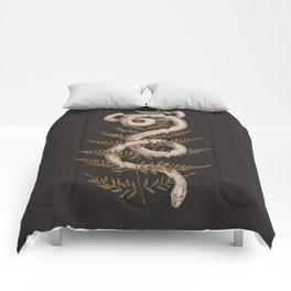 The Snake and Fern Comforters