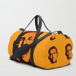 EDWARD SNOWDEN - orange Duffle Bag