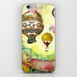 Flying Ballons iPhone Skin