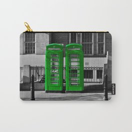 Phone box gone green  Carry-All Pouch