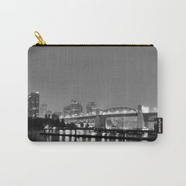 Vancouver in the Haze BW Carry-All Pouch